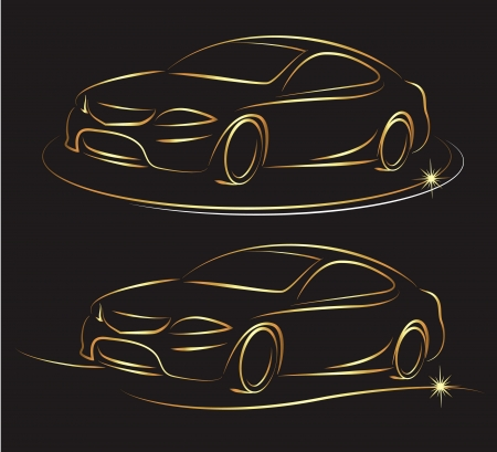 Design for auto business 版權商用圖片 - 21605133