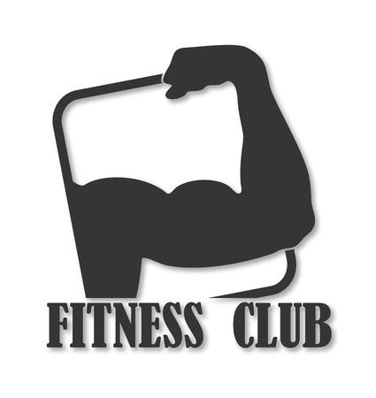 emblem design for fitness club Stock Vector - 22575270