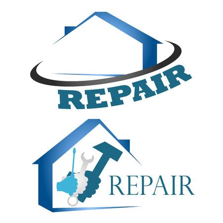 Design für die Reparatur von Häusern Standard-Bild - 23040682