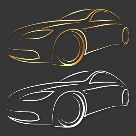 car design for business, vector
