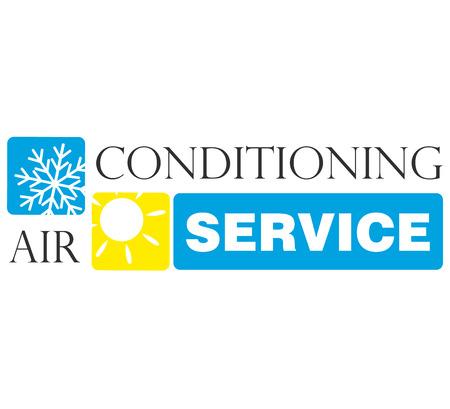 Klimaanlagen-Service, Design für Unternehmen Standard-Bild - 23330363