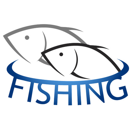 fish for design vector silhouette fishing Vector