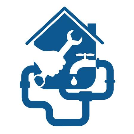 Reparatie aansluiting voor zaken, huis en leidingen Stockfoto - 27901495