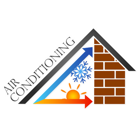 cooling: symbol home air conditioner for the