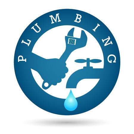 Repair plumbing design for business Vector