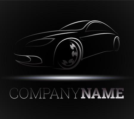 design for the auto business, vector Vettoriali
