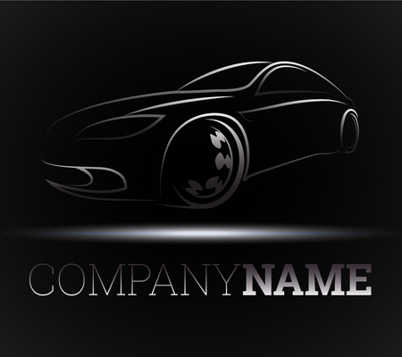 design for the auto business, vector Illustration