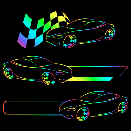 Design for auto business, for vector Illustration
