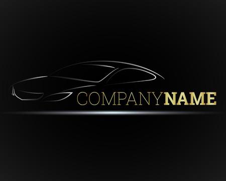 イメージ ビジネス車のベクトル  イラスト・ベクター素材