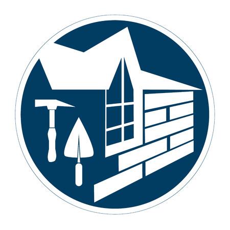businesses: Housing construction symbol for businesses