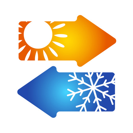 Air conditioning symbol vector for business Vetores