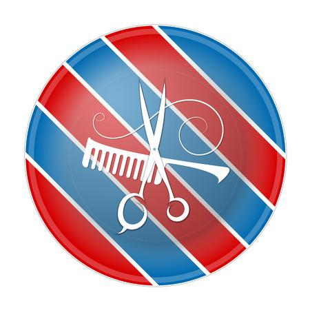 business symbol: Barbers Shop symbol for business