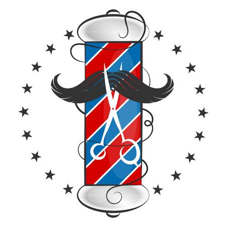 Barber shop simple design for business