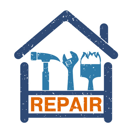 business tool: Home Repair tool is a symbol for the business