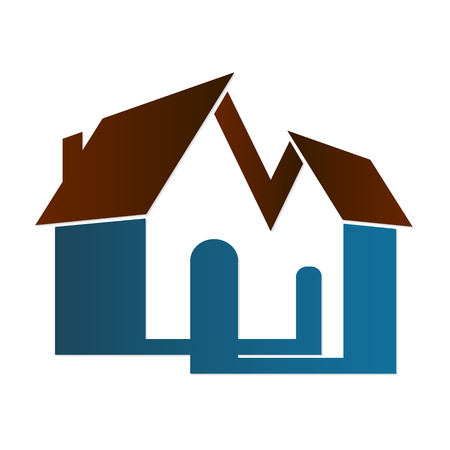 business symbol: Real estate rent and sale symbol for business