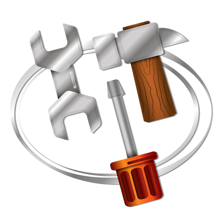 business tool: A tool for repairing a symbol for business