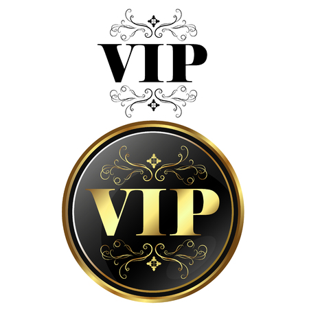 VIP card exclusive design for vector Illustration