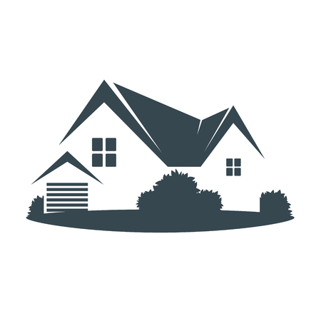 House Construction And Renovation Symbol For Business Royalty Free