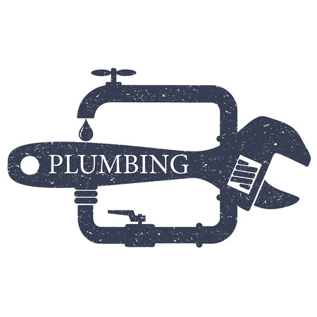 Plumbing design service for business Ilustrace