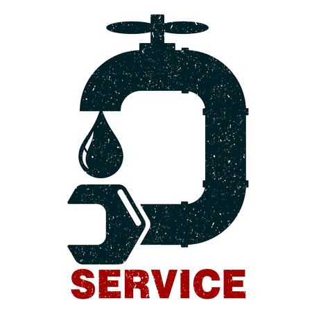 Plumbing service vector for business
