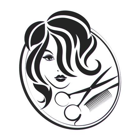 Un simbolo per saloni di bellezza e un parrucchiere