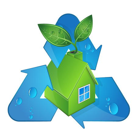 Bio house and alternative sources of energy and recycling