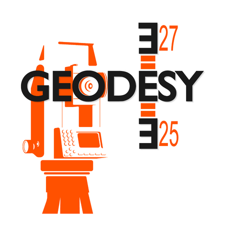 Geodesy and cartography symbol for business