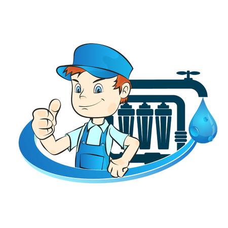 水フィルターのインストールのマスター