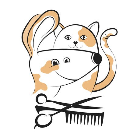 Grooming and caring for dogs and cats