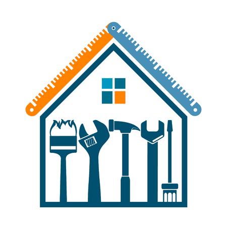 ビジネス用住宅シンボルの修理・施工