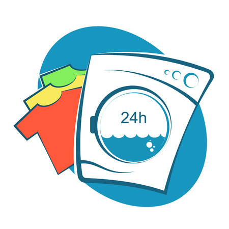 Laundry operation symbol for Business