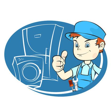 Master of repair of refrigerators and washing machines