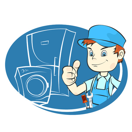 Master of repair of refrigerators and washing machines