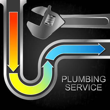 Cleaning the water supply and plumbing wrench