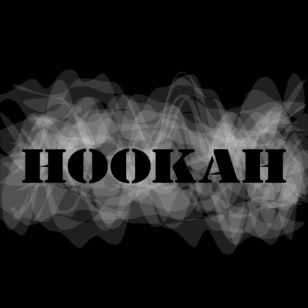 Hookah for smoking and relaxation and white smoke unique design