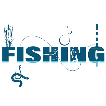 Design for fishing with rod and tackle