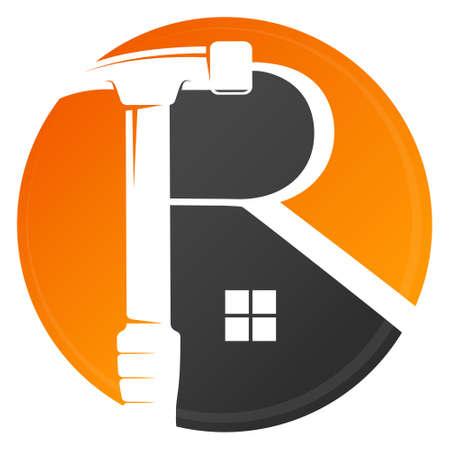 Repair and service house symbol
