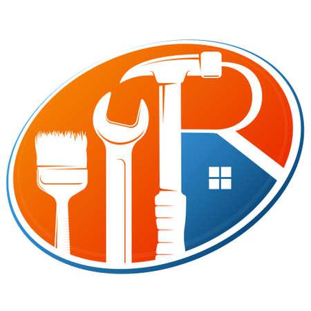 Repair and service tool symbol
