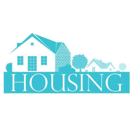 Housing and maintenance symbol