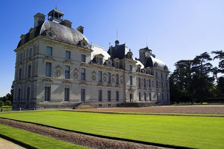 Chateau de Cheverny, Loire, France Imagens