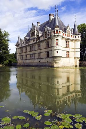 loire: Azay le Rideau Chateau, Loire, France