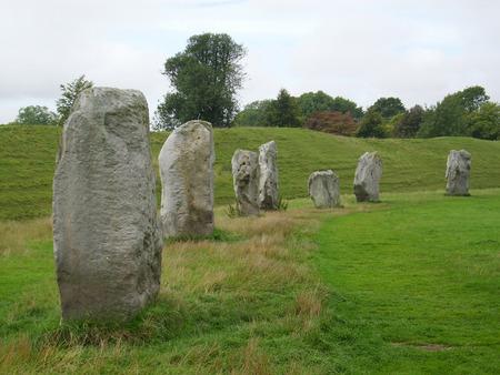 stone circle: Stones at Avebury Stone Circle