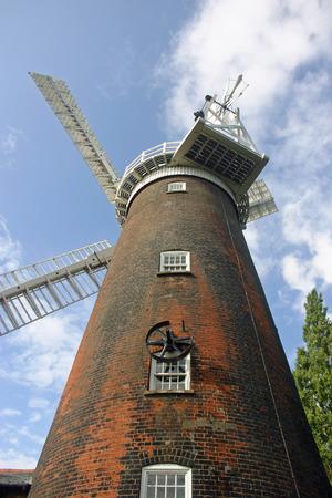 woodbridge: Buttrums Windmill, Woodbridge, Suffolk