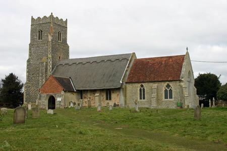 suffolk: Saint Botolphs Church, Iken, Suffolk