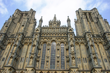 wells: Towers at Wells Cathedral
