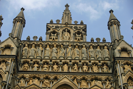 ecclesiastical: Towers at Wells Cathedral