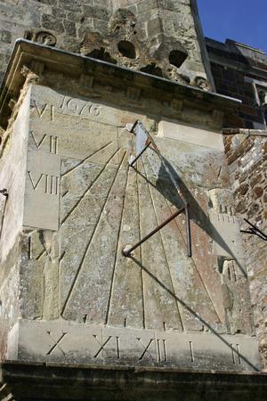 reloj de sol: reloj de sol Wimborne Minster
