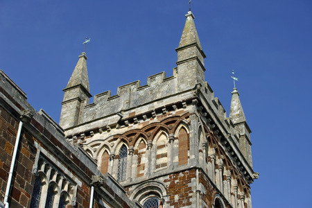 minster: Wimborne Minster tower