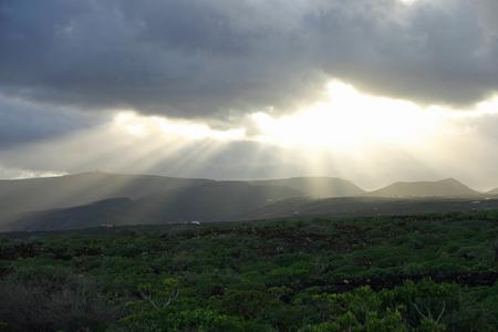lanzarote: Lanzarote sunset
