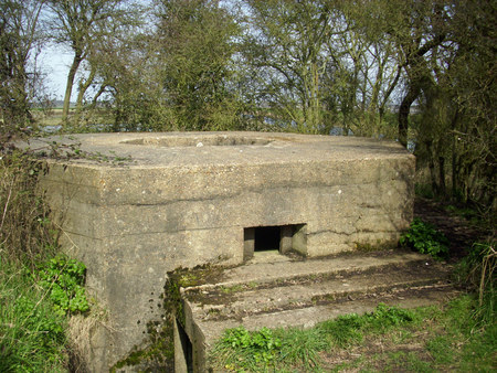 pillbox: World War Two pillbox